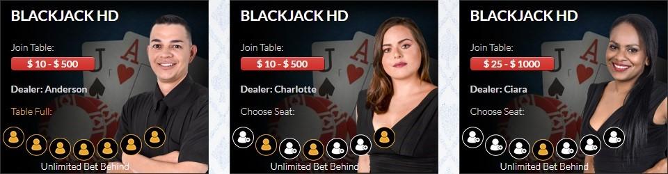 Wild Vegas Casino Live Casino Games